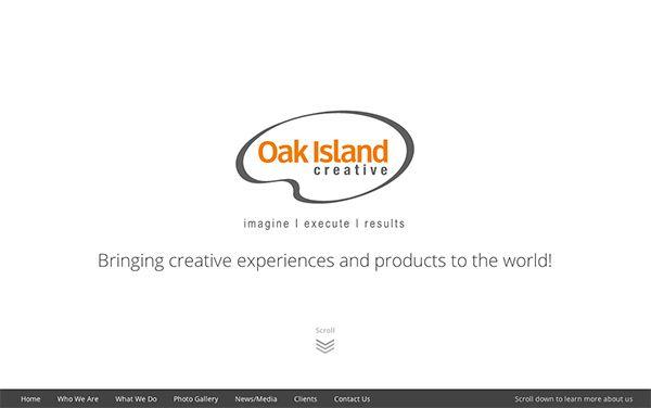 Oak Island Creative Home Page