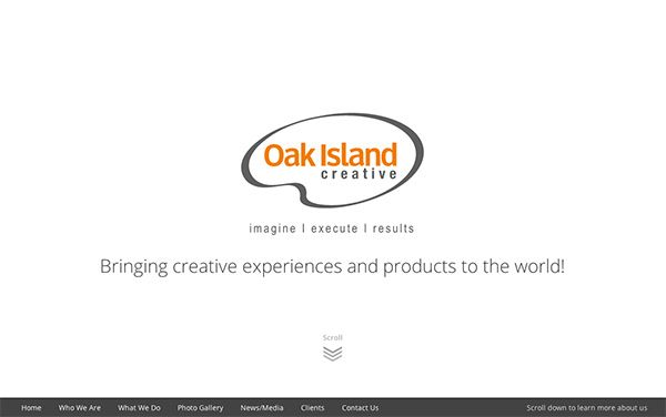 Oak Island Creative Home Page